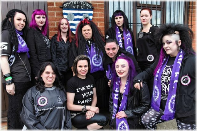 The Sisters of Real 2012 - Louise Street second from left, front