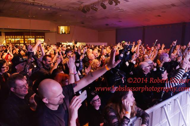 Friday night crowds at the Spa - courtesy of Bob Slassor