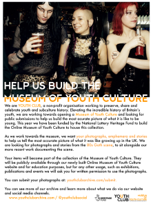 museum of youth culture - 80s goth