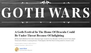 buzzfeed goth wars