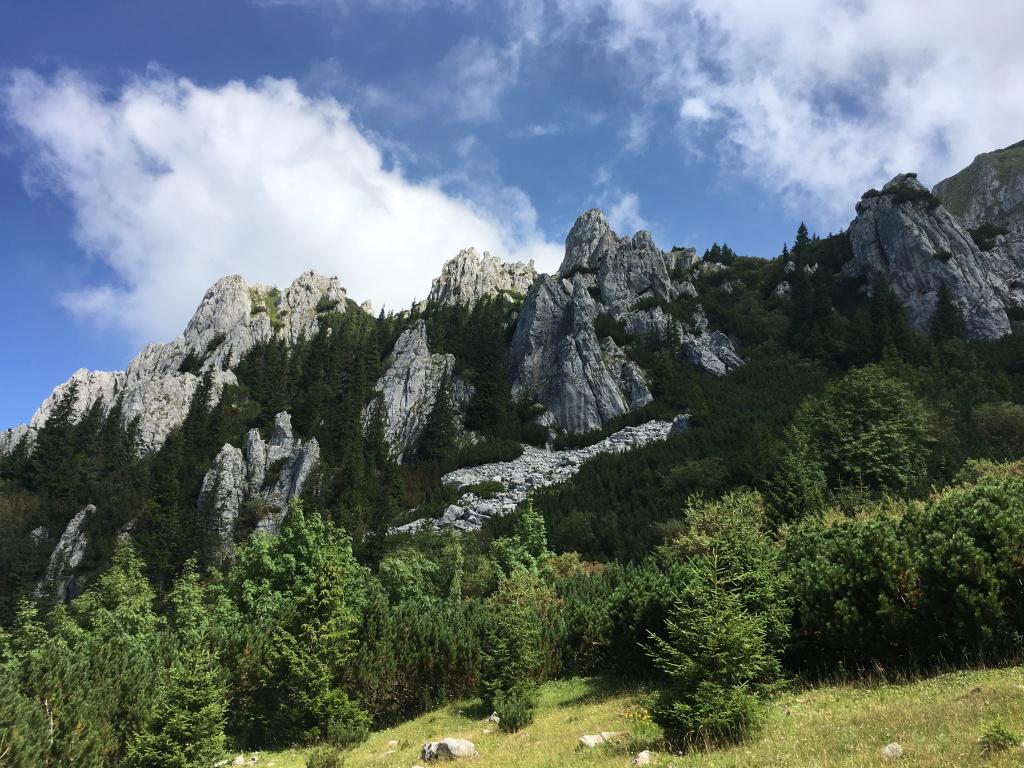 The mountains of Transylvania